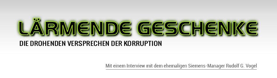 Lärmende Geschenke - die drohenden Versprechen der Korruption. Ein Buch von Uli Reiter